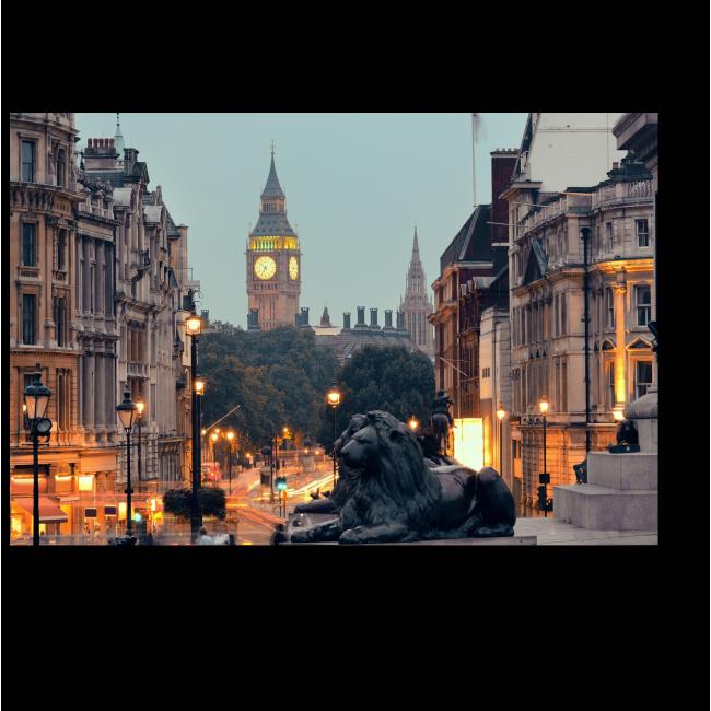 Модульная картина Грозные стражники Лондона