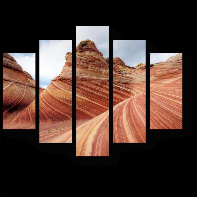 Модульная картина Пария Каньон в Аризоне
