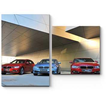 Модульная картина Современные BMW