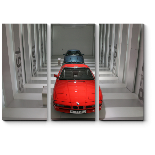 Модульная картина Музей BMW в Мюнхене