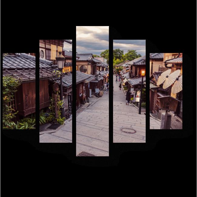 Модульная картина Нинэн-зака-любимая улочка Киото