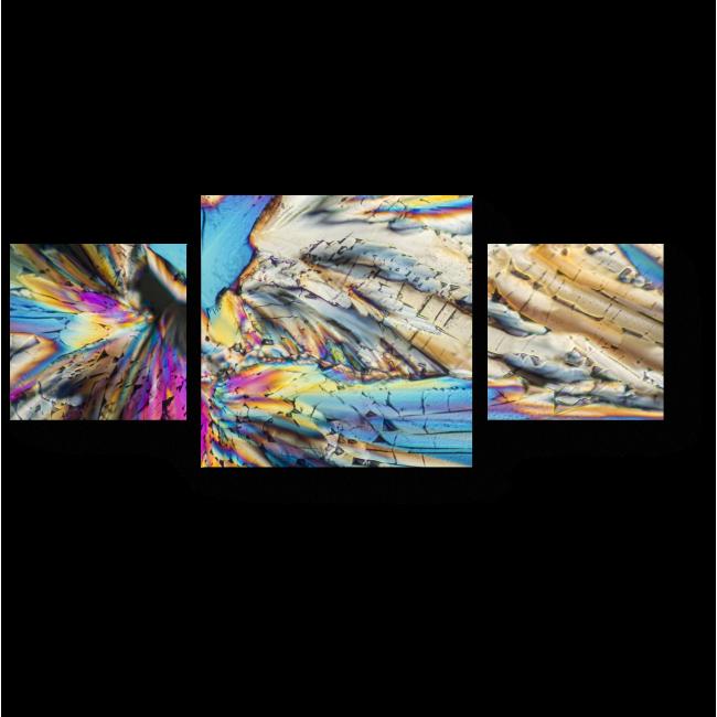 Модульная картина Брызги цвета