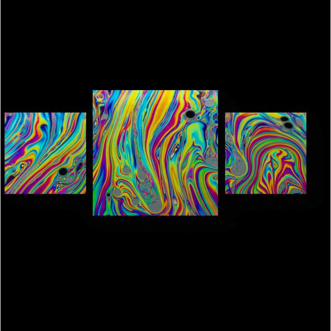 Модульная картина Плавные переливы