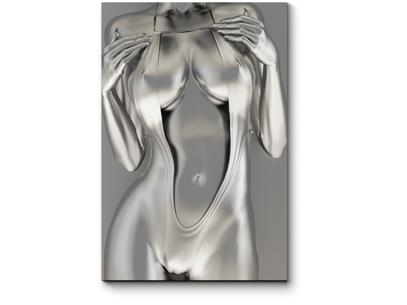 Модульная картина Пышный металлик (20x30) фото