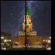 Ночная Благовещенская башня