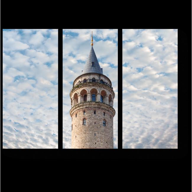 Модульная картина Непреступный Стамбул