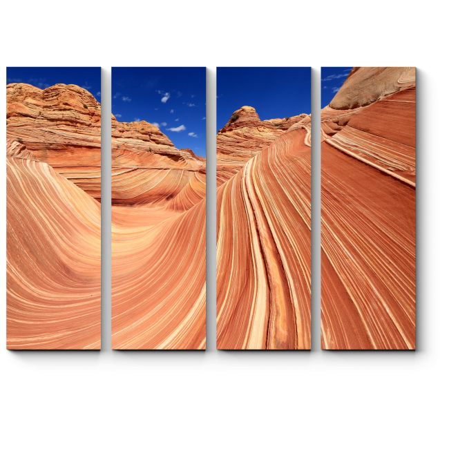 Модульная картина Скалы Вермилион, США