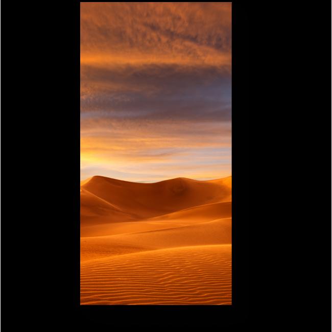 Модульная картина Золотая пустыня