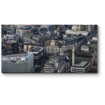 Модульная картина Вечерний Лондон с высоты