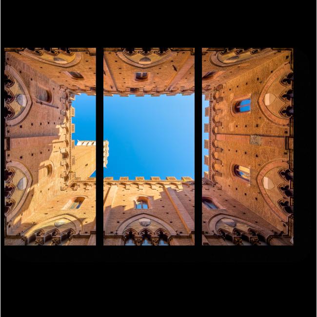 Модульная картина Башни Сиены, Италия