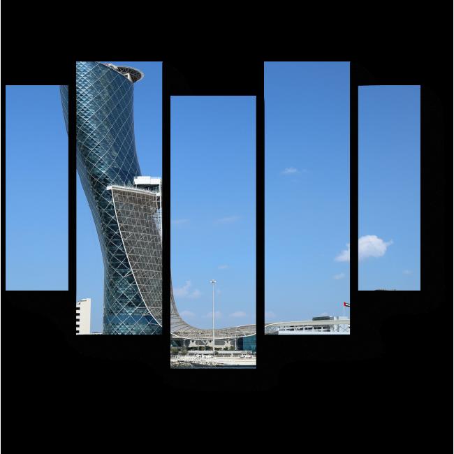 Модульная картина Неотразимый Дубай