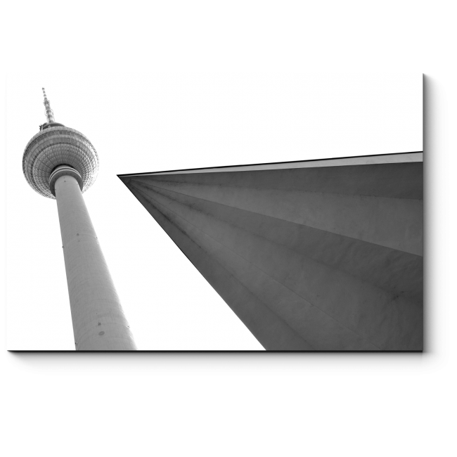 Модульная картина Монохромный Берлин