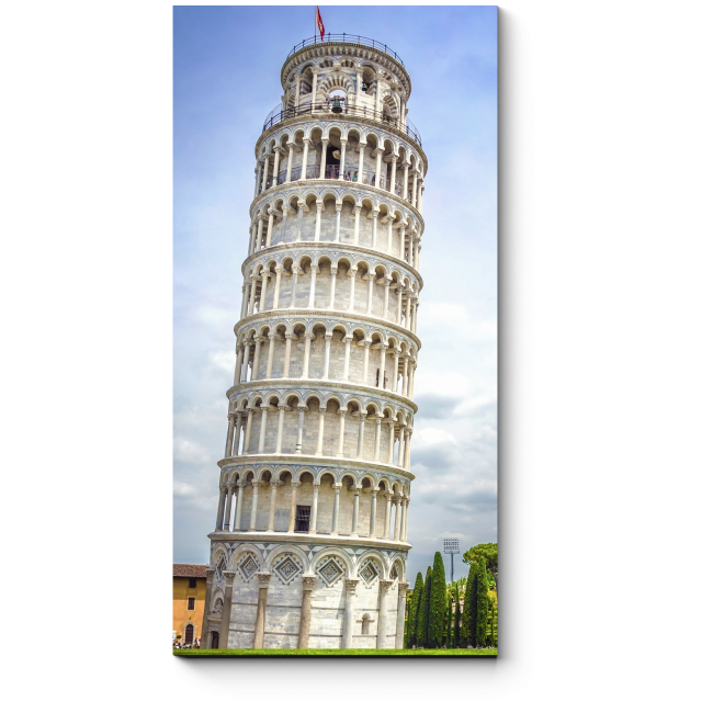Модульная картина Пизанская башня в Тоскане