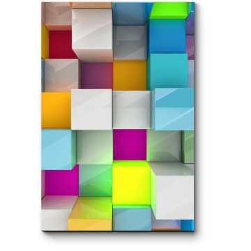 Цветной кубизм