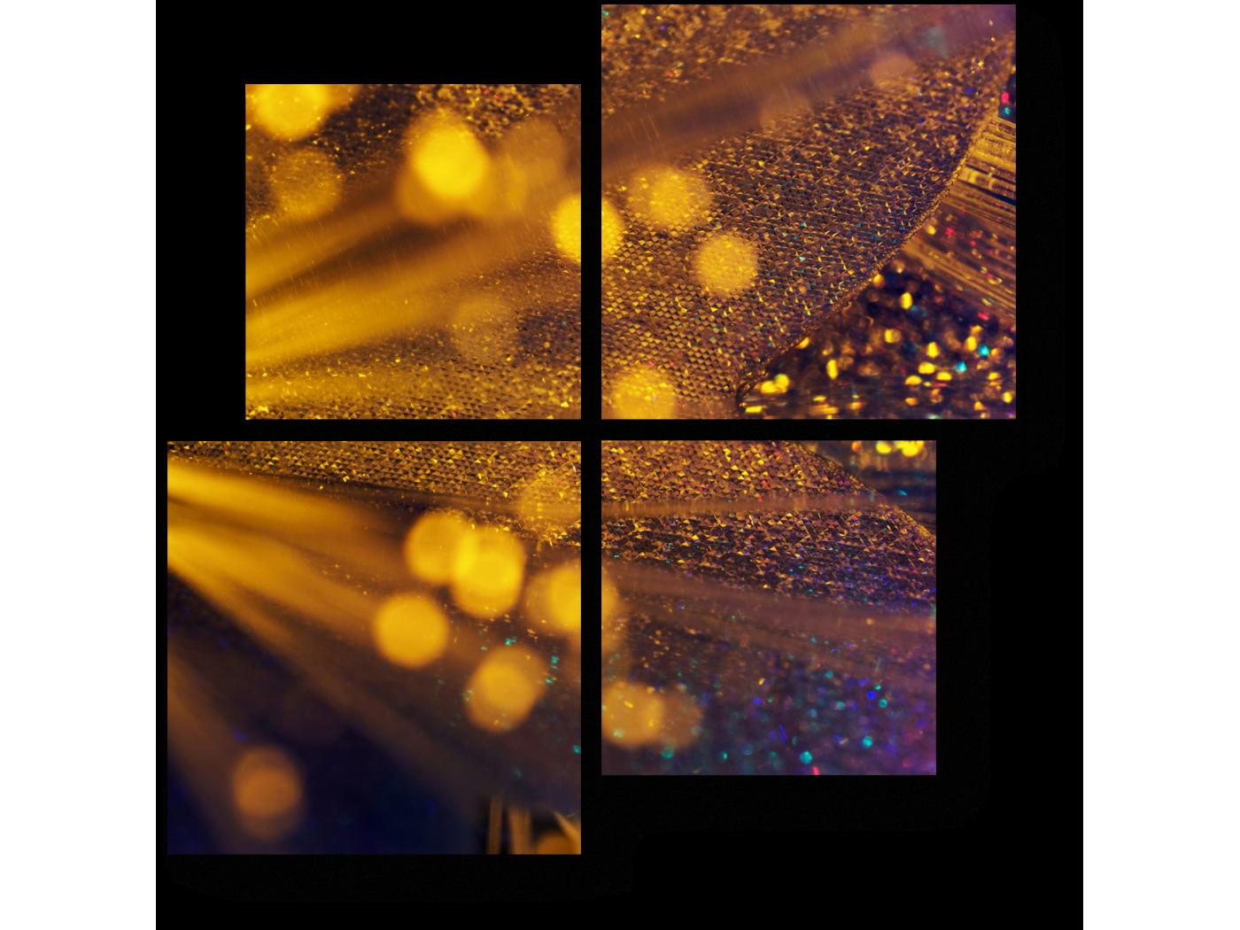 Модульная картина Магическое свечение (50x50) фото
