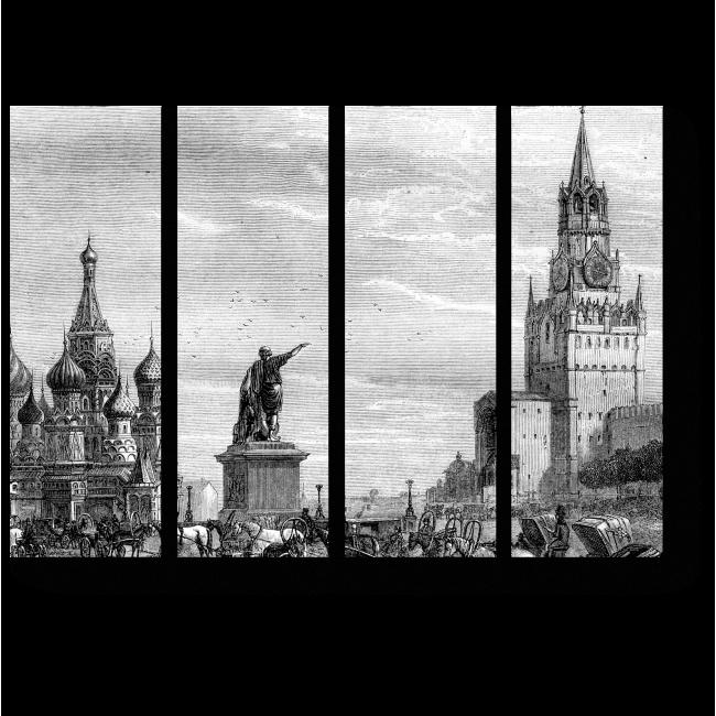 Модульная картина Красная Площадь