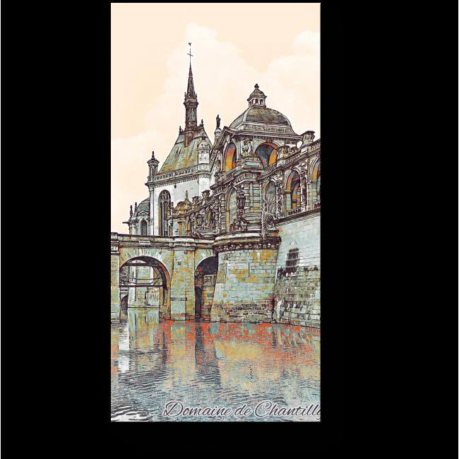 Модульная картина Знаменитый Французский Замок