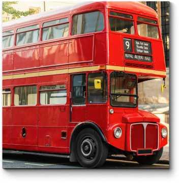 Модульная картина Красный символ Лондона