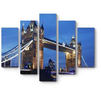 Тауэрский мост на закате дня, Лондон