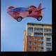 Летящий скоростной автомобиль будущего