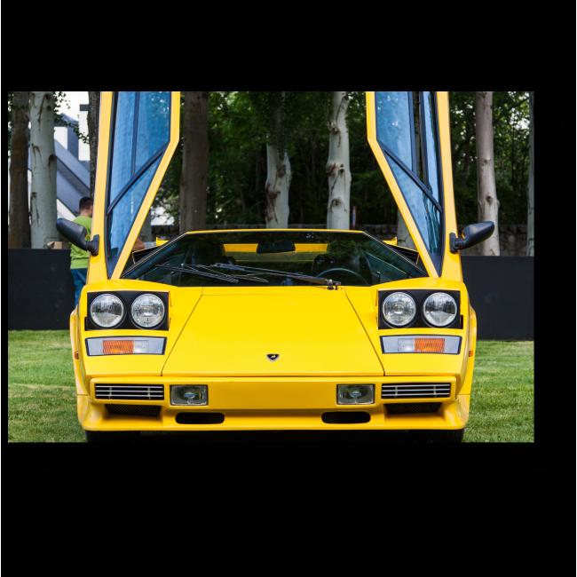 Модульная картина Lamborghini Countach LP 500S