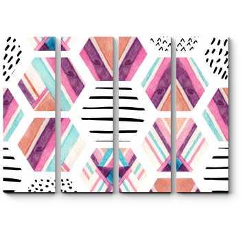 Яркие шестигранники