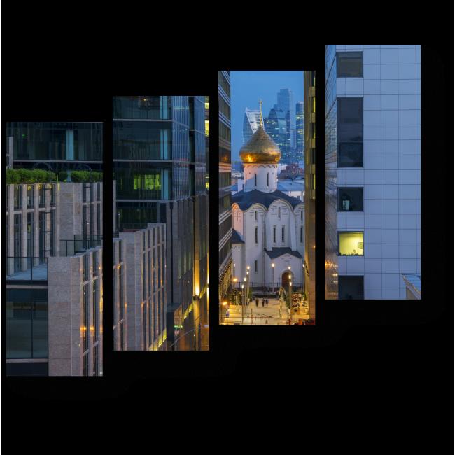 Модульная картина Московские вечера