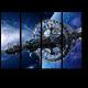 Фантастический космический корабль