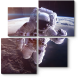 Космонавт в невесомости
