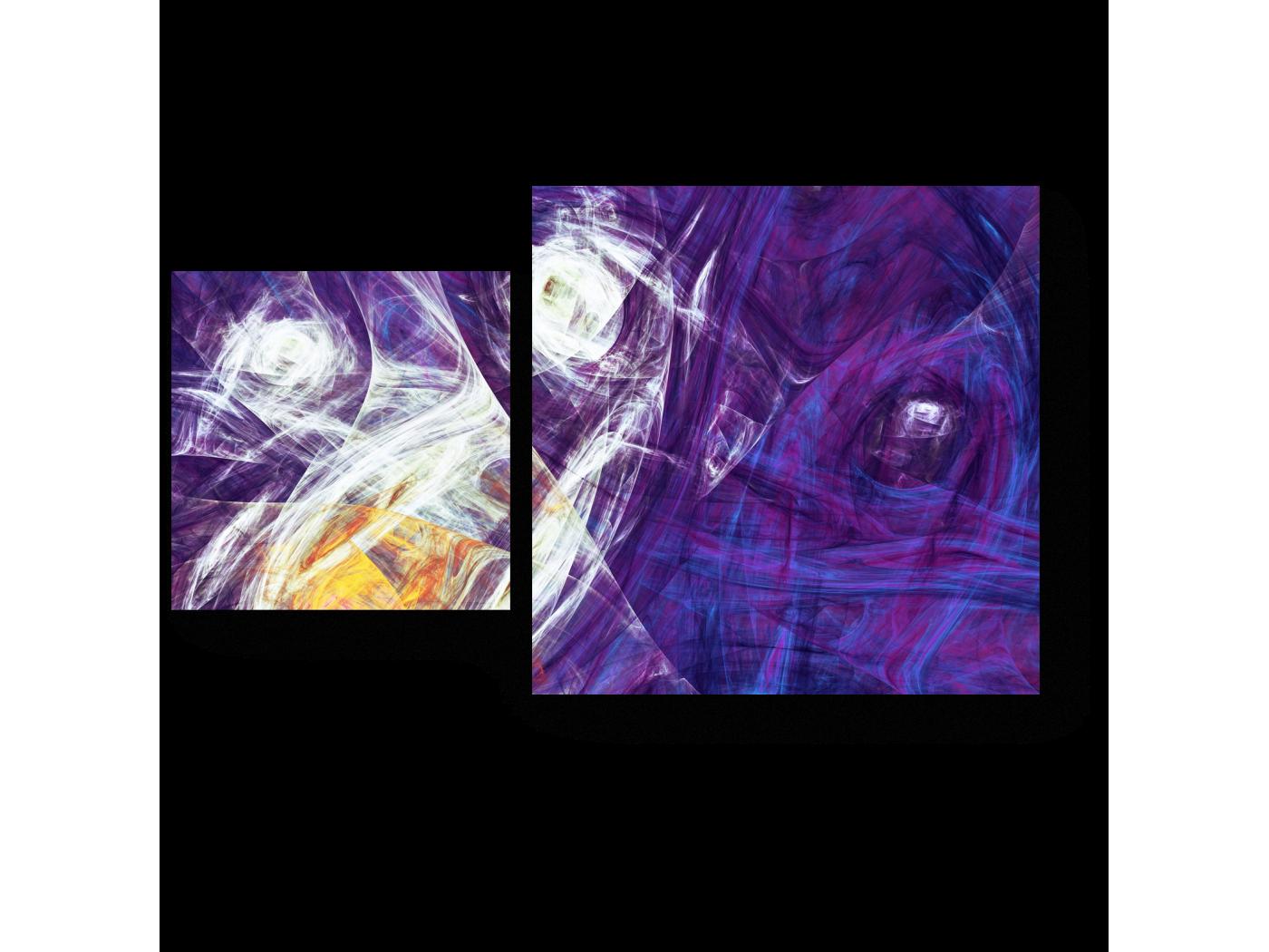 Модульная картина Подснежники (50x30) фото