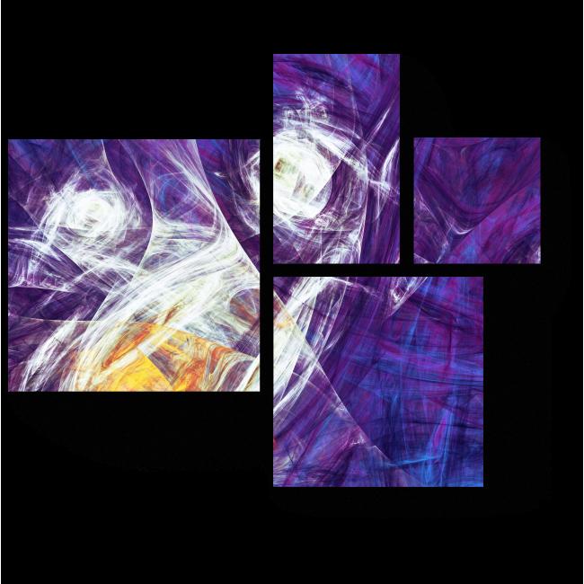 Модульная картина Подснежники