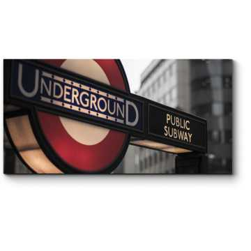 Модульная картина Лондонская подземка
