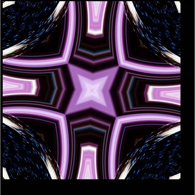 Модульная картина Внутри калейдоскопа