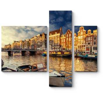 Потрясающая атмосфера Амстердама