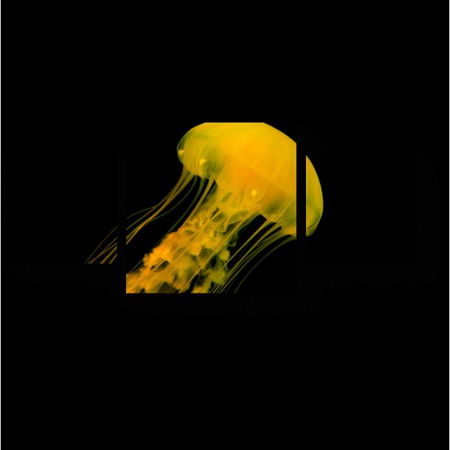 Модульная картина Золотая медуза