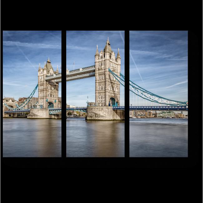 Модульная картина Тауэрский мост солнечным днем