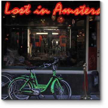 Кафе в центре Амстердама