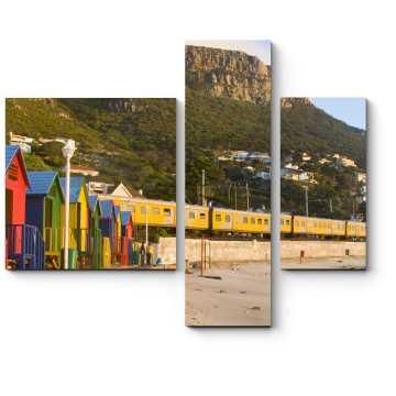 Яркие краски Кейптауна