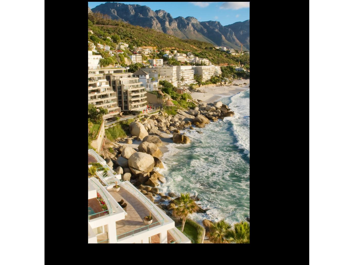 Модульная картина На побережье Кейптауна (20x30) фото
