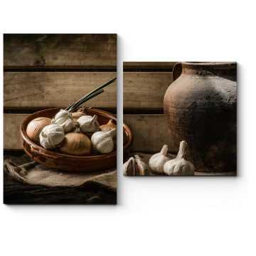 Натюрморт с глиняным кувшином
