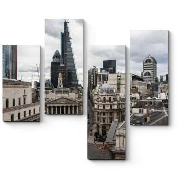Над крышами Лондона