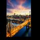 Огни моста Куинсборо, Нью-Йорк