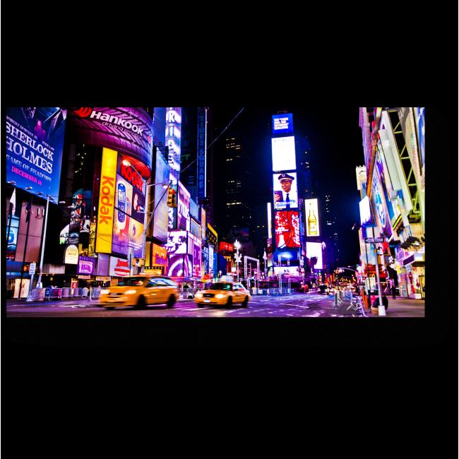 Модульная картина Неоновые огни Нью-Йорка
