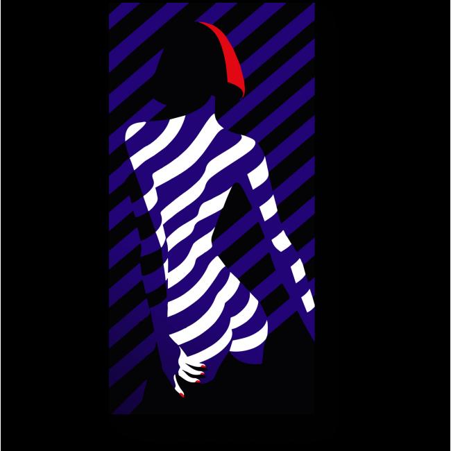 Модульная картина Игра теней