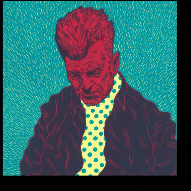 Модульная картина Дэвид Линч