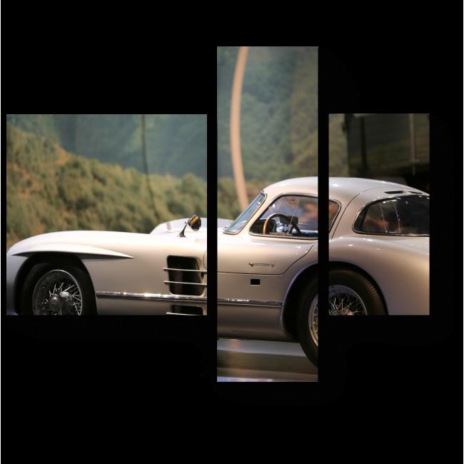 Модульная картина Легенда гонок
