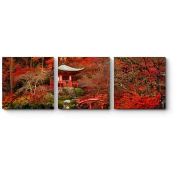 Красная осень в Киото