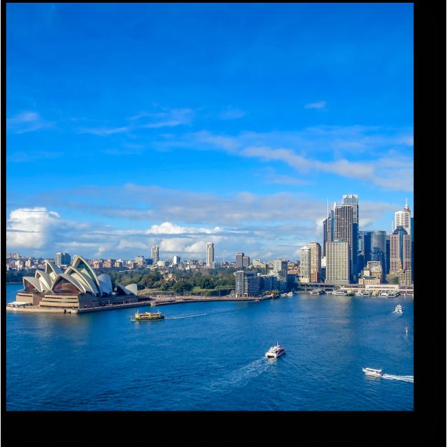 Модульная картина Солнечный Сидней