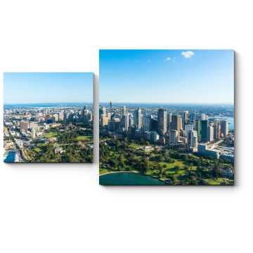 Модульная картина Деловой центр Сиднея