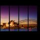 Сиднейский оперный театр в сумерках